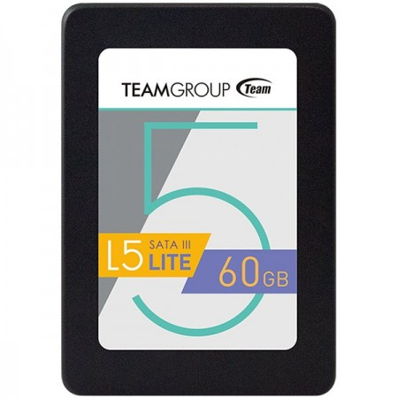 TEAM GROUP 2.5 STD SATA3 L5 LITE 7mm 60GB RETAIL (T2535T060G0C101)