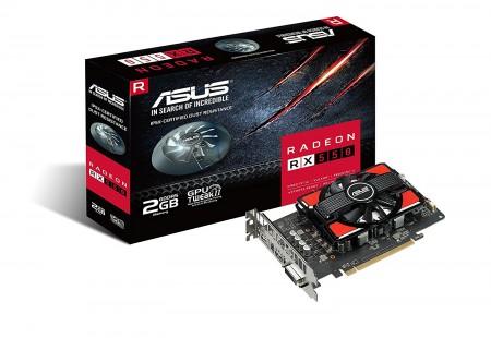 Asus (AREZ-PH-RX550-2G) AMD Radeon RX550 2GB 128bit