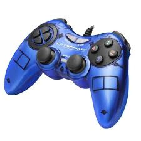 Esperanza EGG105B Gamepad PC USB Fighter Blue