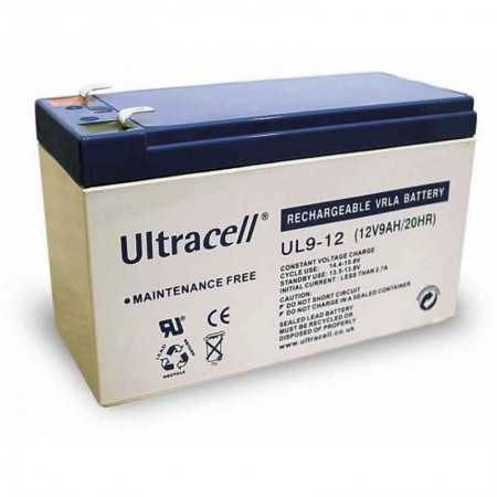 Ultracell UL9-12 Battery 12V / 9.0Ah, UPS