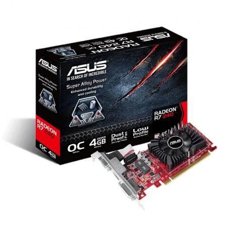 Asus AMD R7 240 4GB 128bit R7240-OC-4GD3-L