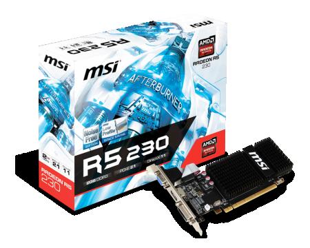 AMD Radeon R5 230 2GB 64bit R5230-2GD3H LP