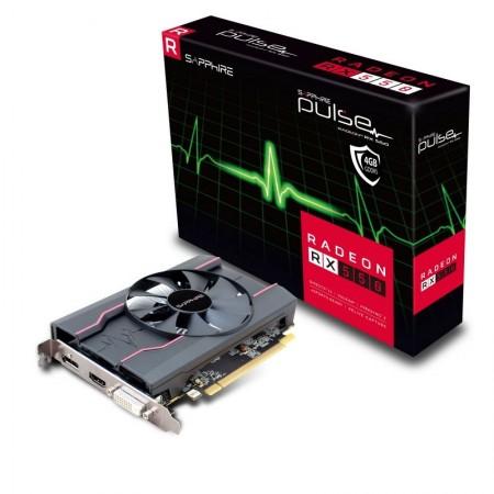 SAPPHIRE AMD Radeon RX 550 4GB 128bit PULSE RX 550 4G D5 (11268-15-20G)