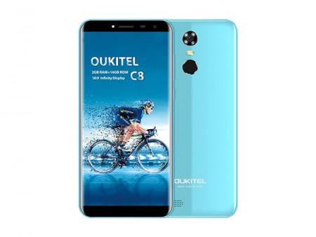 OUKITEL MT6580A C8 5.5 Blue Smart Phone
