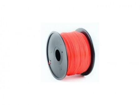 Gembird 3DP-PLA1.75-01-FR PLA Filament za 3D stampac 1.75mm, kotur 1KG, Fluorescent Red