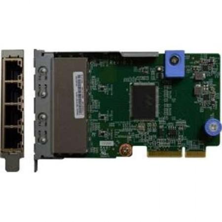 Lenovo (7ZT7A00545) ThinkSystem 1Gb 4-port RJ45 LOM