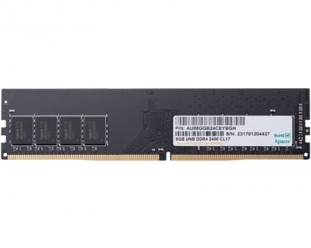 APACER DIMM DDR4 8GB 2400MHz Retail EL.08G2T.GFH