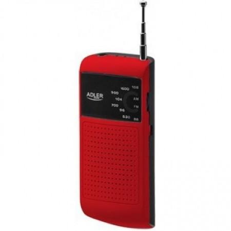 Adler AD1159R Džepni Tranzistor Red