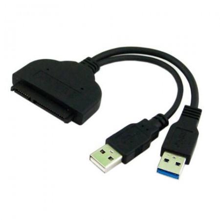 Adapter S-ATA to USB 2.0+USB 3.0