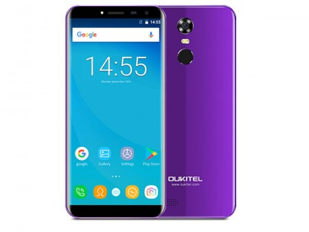 OUKITEL MT6580A C8 5.5 Purple Smart Phone