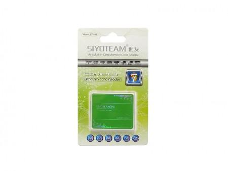 Citac kartice SYOTEAM SY-682 zeleni