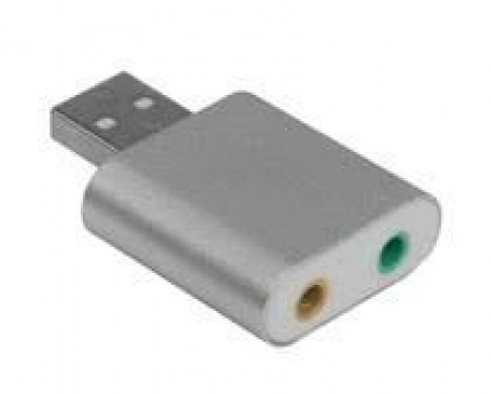 Linkom 2.0 USB 7.1ch Metalna Zvučna Karta