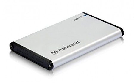 Transcend (500GB-E-HDD) 500GB 2.5 External HDD Silver
