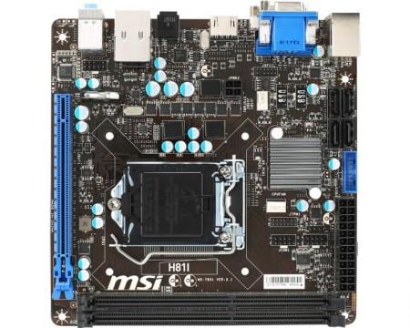 LGA 1150 MSI H81I bulk
