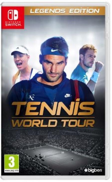 Switch Tennis World Tour Legends Edition (  )