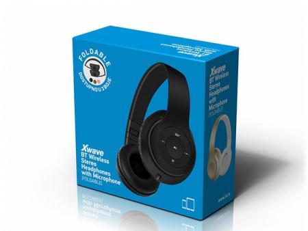 Xwave MX350 gold BT stereo slusalice sa mikrofonom