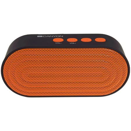 CANYON (CNE-CBTSP3BO) Bluetooth Speaker Black and Orange