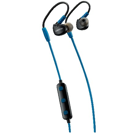 Canyon (CNS-SBTHS1BL) Bluetooth Sport Earphones Blue