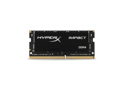 KINGSTON (HX424S14IB4) 4GB 2400MHZ SODIMM DDR4 Hyper Impact Black