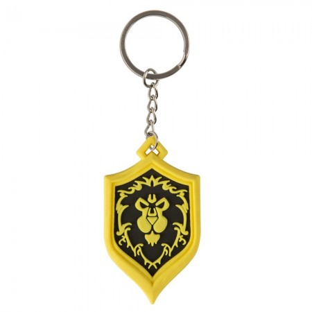 World Of Warcraft Alliance Pride Keychain