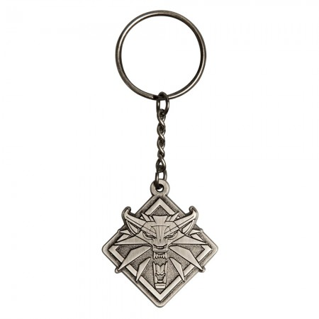 The Witcher 3 Medallion Keychain