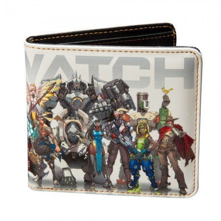 Overwatch Line Up Wallet