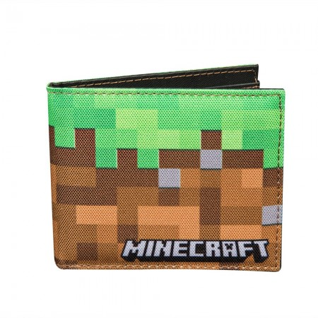 Minecraft Dirt Bi-Fold Wallet