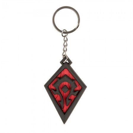 World Of Warcraft Horde Pride Keychain