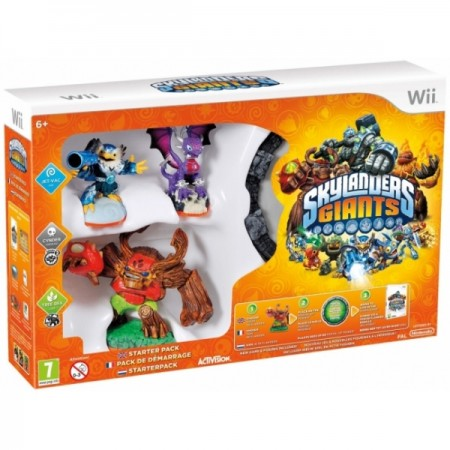 Activision Blizzard WiiU Skylanders GIANTS Starter Pack (Game + Portal of Power + Jet-Vac + Cynder + Tree Rex)