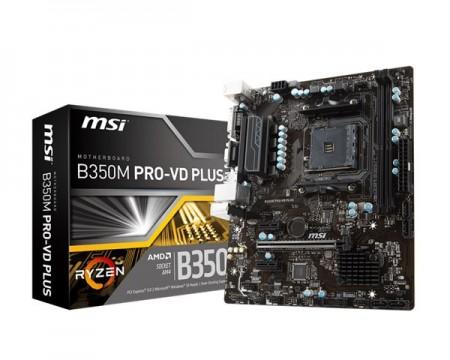 AM4 MSI B350M PRO-VDH Plus