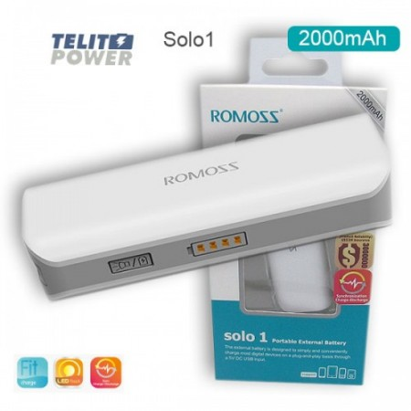Power Bank Solo 1  ROMOSS 2000mAh ( 354 )