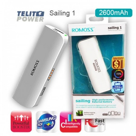 Power Bank Sailing 1  ROMOSS 2600mAh ( 348 )