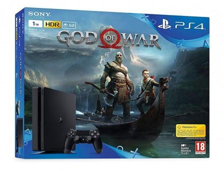 Sony PS4 1TB Slim + GoW