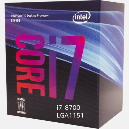 Intel (I78700) Core i7-8700 Coffee Lake 6-Core 3.2 GHz (4.6 GHz Turbo) LGA 1151