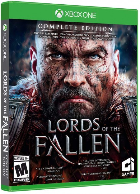 XBOXONE Lords of the Fallen Complete Edition