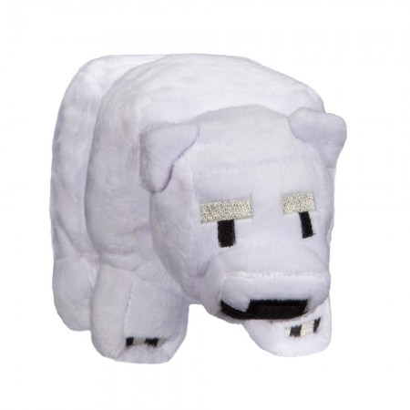 Minecraft 7 Baby Polar Bear Plush (  )