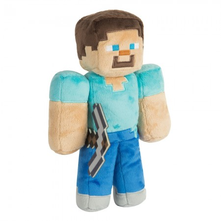 Minecraft 12 Steve Plush With Hang Tag (  )