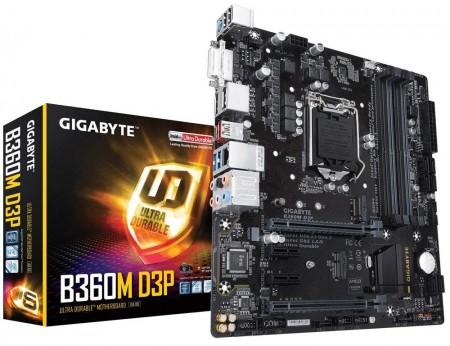 1151 Gigabyte B360M D3P rev.1.0