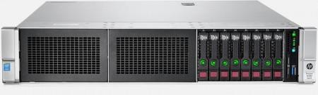 HP DL380 Gen9 8C (826682R-B21) Intel Xeon E5-2620v4 16GB-R P440ar/2GB 8SFF NoHDD NoODD 500W Remarket 2U Rack (3-3-3)