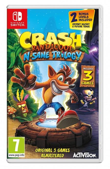 Switch Crash Bandicoot N. Sane Trilogy ( 88199EN )