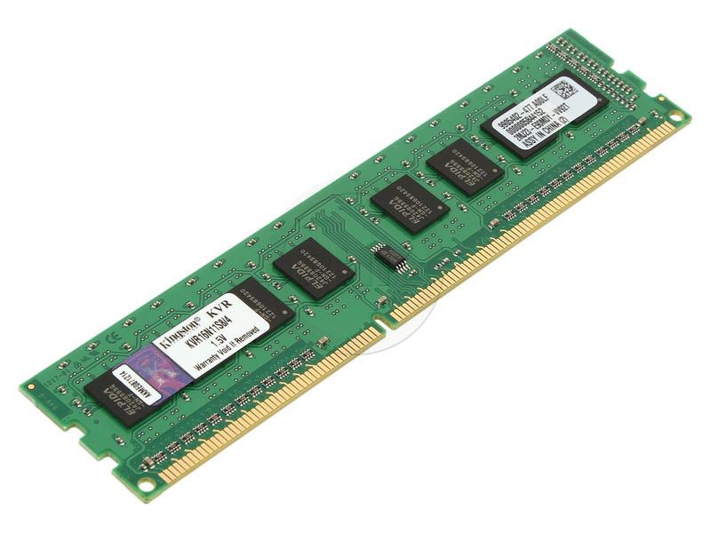 KINGSTON DDR3 4GB 1600MHz  KVR16N11S8/4