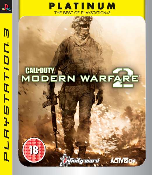 PS3 Call of Duty Modern Warfare 2 Platinum