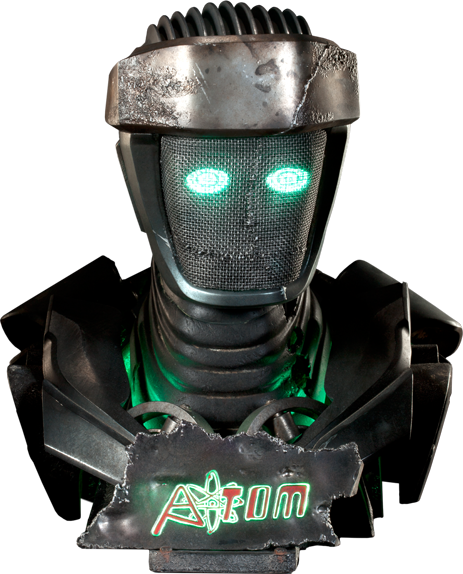 Atom Life Size Bust