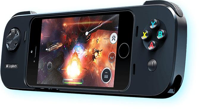 Logitech Powershell Gamepad, Controller + Battery