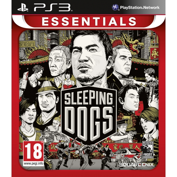 PS3 Sleeping Dogs Essentials