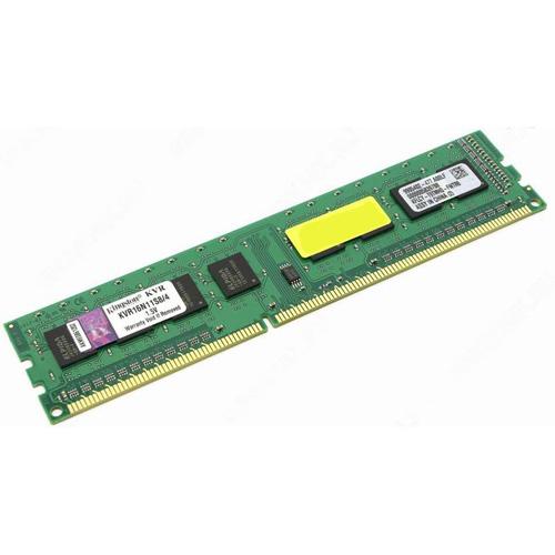 KINGSTON 4GB DIMM DDR3 1600MHz KVR16N11S8/4BK