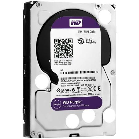 HDD AV WD Purple (3.5, 1TB, 64MB, 5400 RPM, SATA 6 Gbs)