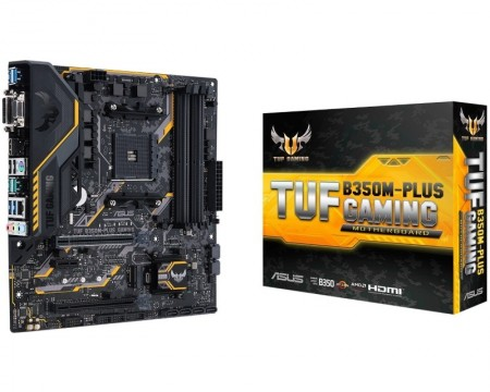 AM4 ASUS TUF B350M-PLUS GAMING