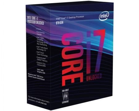 INTEL Core i7-8700K 6-Core 3.7GHz (4.7GHz) Box LGA1151