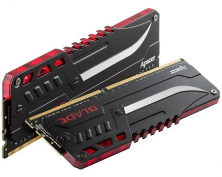 APACER DIMM DDR4 16GB 3000MHz OC BLADE Fire 1.35V (2 x 8GB kit) EK.16GAZ.GJDK2